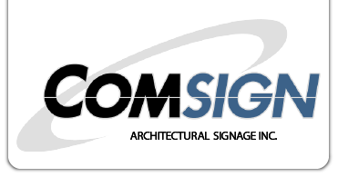 Comsign Architectural Signage