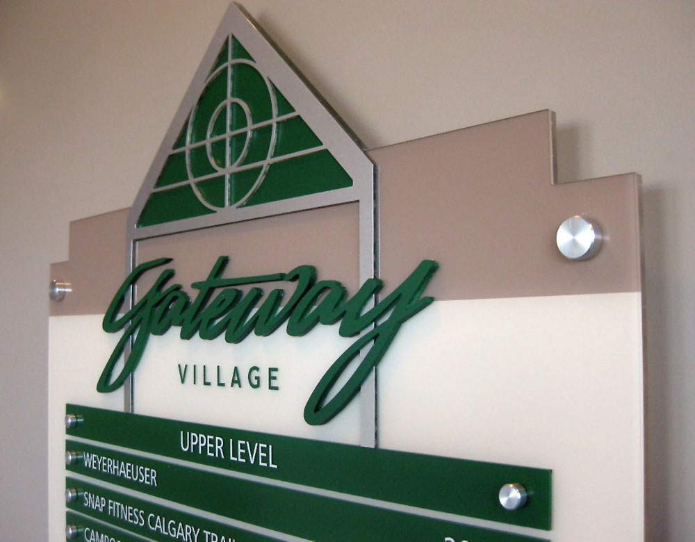 Interior Signs and Wayfinding