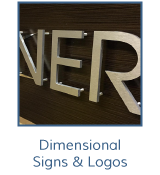 Dimensional Signs and Logos